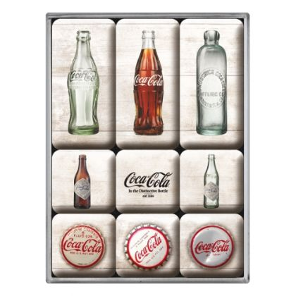 Set magneti Coca-Cola Bottle Timeline
