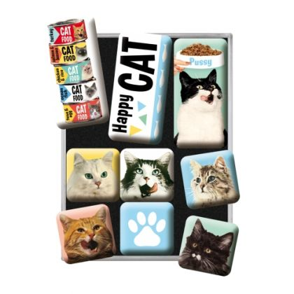 Set magneti Happy Cats