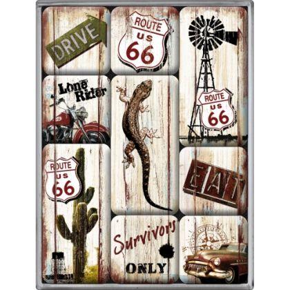 Set magneti Route 66 - Survivor