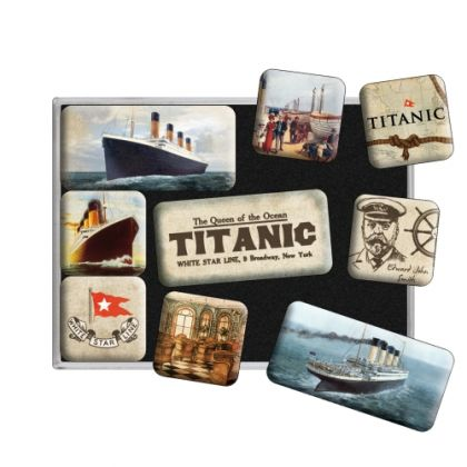 Set Magneti Titanic Queen Ocean