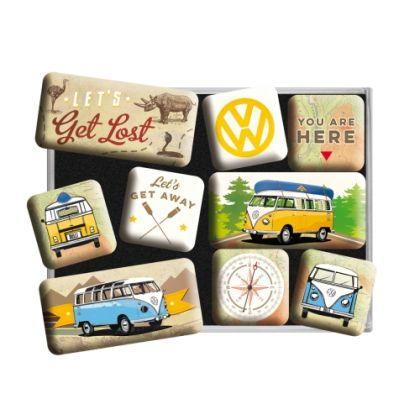 Set magneti VW - Bulli Let's Get Lost