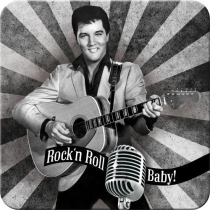 Suport pahar Elvis Rock'n'Roll