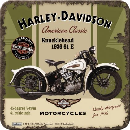 Suport pahar Harley-Davidson Knucklehead