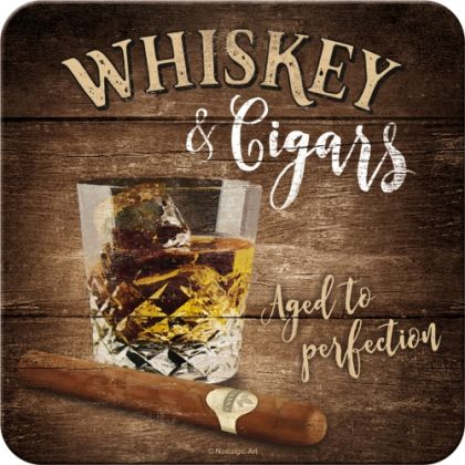 Suport pahar Whiskey & Cigars