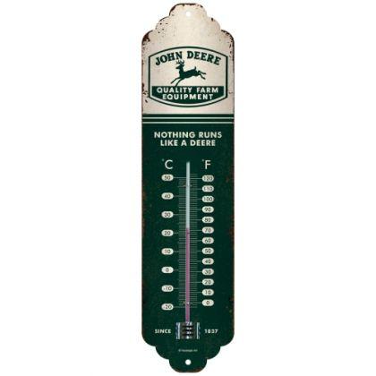 Termometru John Deere - Logo Beige Green