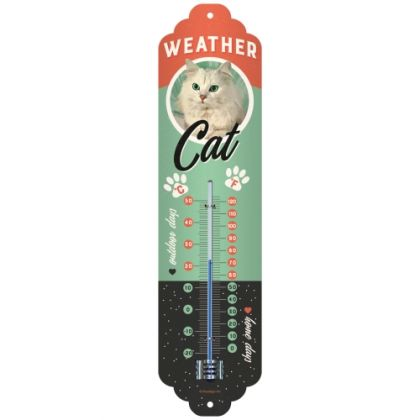 Termometru Weather Cat