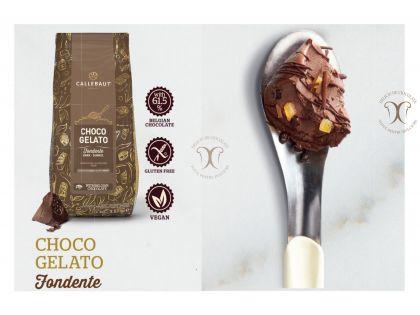 ChocoGelato, Premix de ciocolata neagra pentru Inghetata/Gelato, punga 1.6 Kg, Callebaut