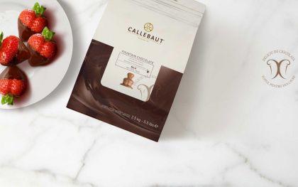 Ciocolata cu lapte pentru fantana, Barry Callebaut Belgia la 2,5 Kg