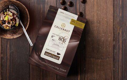 Ciocolata Neagra 50,7% cacao Callebaut dropsuri  2.5 Kg