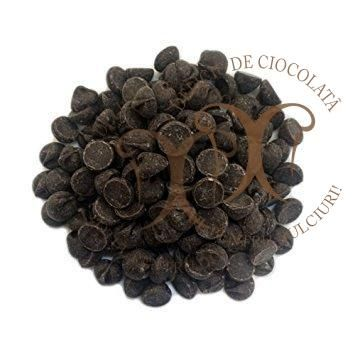 Ciocolata Neagra 54,5% cacao, Barry Callebaut, dropsuri, 10 Kg