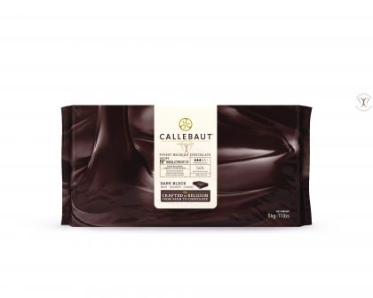 Ciocolata neagra fara zahar, cacao 54%, 5 Kg, Barry Callebaut