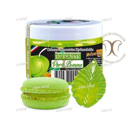 Colorant Verde Mar (Vert Pomme) 50 g Deco Relief
