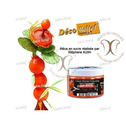 Colorant Portocaliu Foc (Orange Feu) 50 g Deco Relief