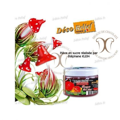 Colorant Rosu Mos Craciun (Rouge Pere Noel) 50 g Deco Relief