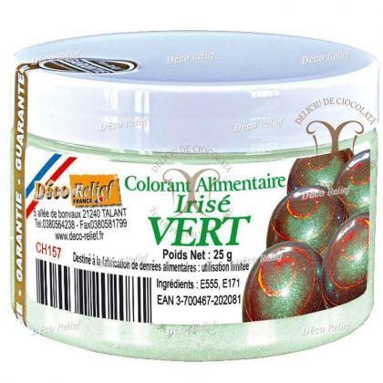 Colorant cu efect metalic Verde (Vert) 25 g Deco Relief