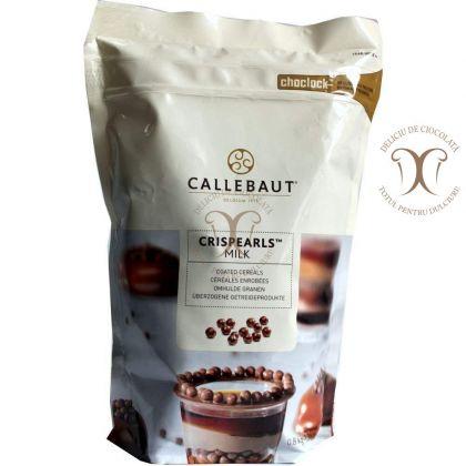 CRISPEARLS Ciocolata cu Lapte (Crispearls Milk) Barry Callebaut 800 g