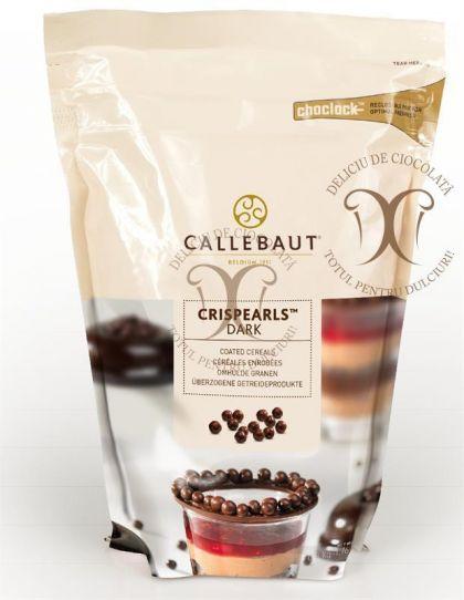 CRISPEARLS Ciocolata Neagra (Crispearls Dark) Barry Callebaut 800 g