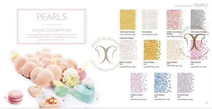 Perle Ecru Medii (Ecru Pearls) 4-5 mm Barbara Decor 1,2 Kg