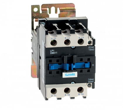 CONTACTOR  DC LP1-D 50A 110V 1NO/1NC