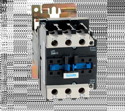 CONTACTOR  DC LP1-D 50A 48V 1NO/1NC
