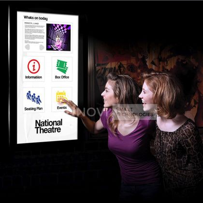 Display interactiv Full HD ,10 puncte Capacitive Touch, ecran 50 inch, Dual OS
