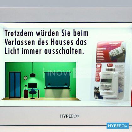 HYPEBOX 21.5 inch Orizontal, Alb, Full HD, 2 puncte touch