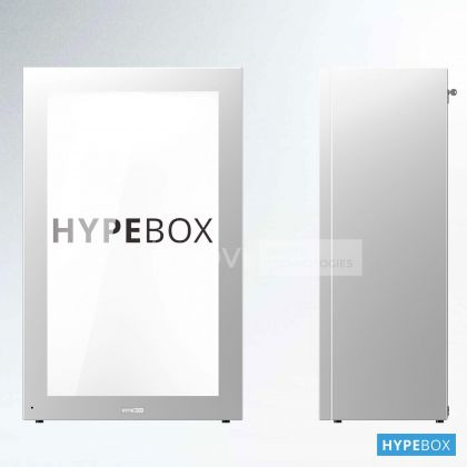 HYPEBOX 49 inch, Vertical, Alb, Full HD, 10 puncte touch
