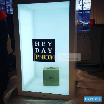 HYPEBOX 55 inch, Vertical, Alb, Full HD, 10 puncte touch