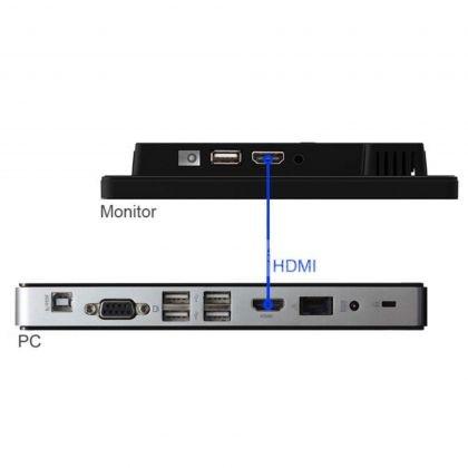 Monitor POS, ecran 10 inch, HDMI