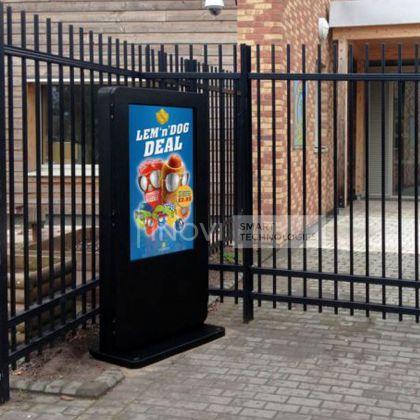 Totem publicitar outdoor, ecran 49 inch, Plug and Play