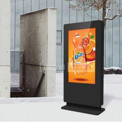 Totem publicitar outdoor, ecran 55 inch, Plug and Play
