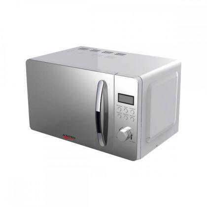 Cuptor cu microunde Albatros MWA-20D3S, Digital, 20 L, putere microunde 700 W,8 Programe, Argintiu