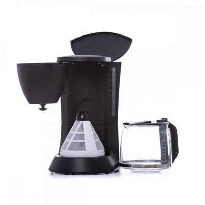 Filtru de cafea Albatros VERONA BLACK 2, 8 - 10 cesti, 680 W, capacitate 1,2 litri, culoare neagra