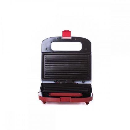 Sandwich Maker Albatros S2A-750, 750 W, Placi tip grill, antiaderente, Alb