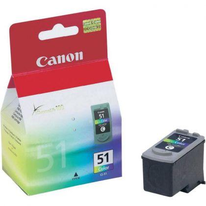 Cartus cerneala Canon CL-51, color, capacitate 21ml / 275 pagini
