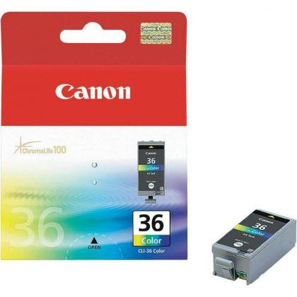 Cartus cerneala Canon CLI-36, color, pentru Canon IP100