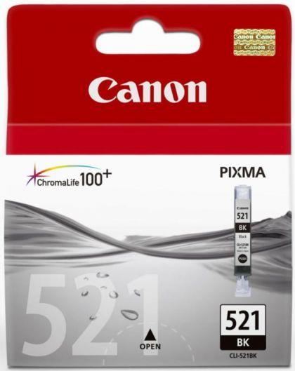 Cartus cerneala Canon CLI-521BK, black, 9ml / 665 pagini
