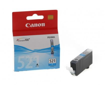 Cartus cerneala Canon CLI-521C, cyan, 9ml / 505 pagini