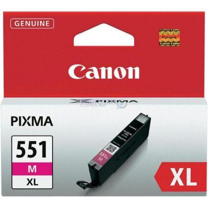 Cartus cerneala Canon CLI-551XL, magenta, capacitate 11ml
