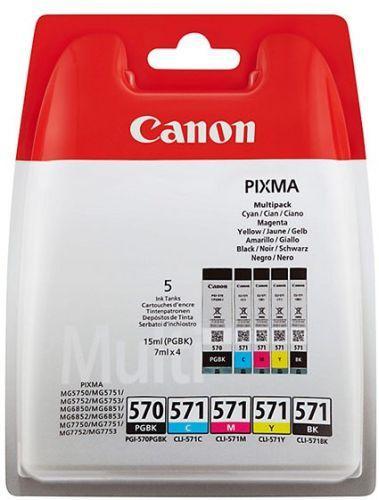 Cartus cerneala Canon CLI-570MULTI, multipack (cyan,magenta