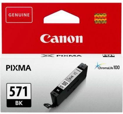 Cartus cerneala Canon CLI-571BK, black, capacitate 7ml