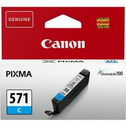 Cartus cerneala Canon CLI-571C, cyan, capacitate 7ml