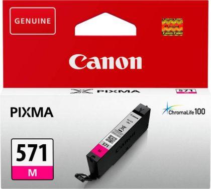 Cartus cerneala Canon CLI-571M, magenta, capacitate 7ml