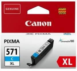 Cartus cerneala Canon CLI-571XL, cyan, capacitate 11ml