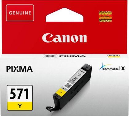 Cartus cerneala Canon CLI-571Y, yellow, capacitate 7ml