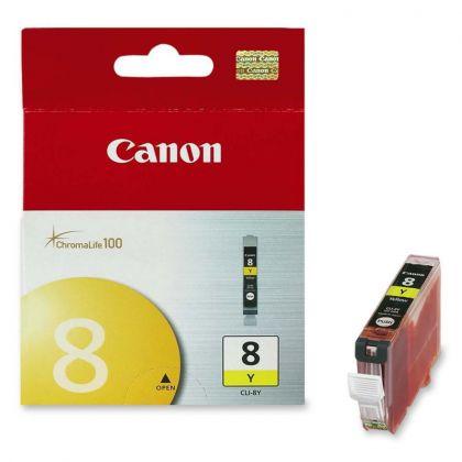 Cartus cerneala Canon CLI-8Y, yellow, capacitate 13ml