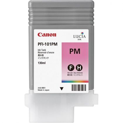 Cartus cerneala Canon PFI-101PM, photo magenta, capacitate 130ml