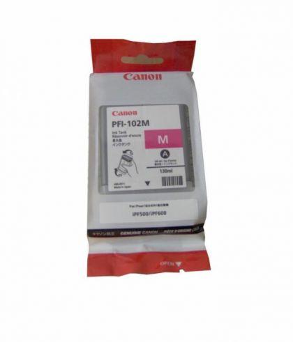 Cartus cerneala Canon PFI-102M, magenta, capacitate 130ml