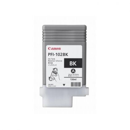 Cartus cerneala Canon PFI-102PB, photo black, capacitate 130ml