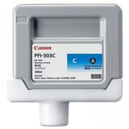 Cartus cerneala Canon PFI-303C, cyan, capacitate 330ml